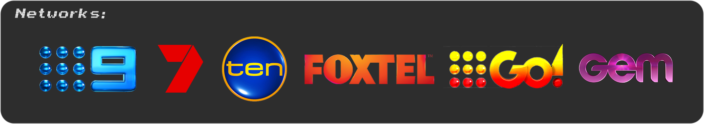 TV Networks Channel 9 Channel 7 Channel 10 FOXTEL Go! GEM Kim Smitherman Filmmaker TV Director